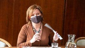Ministryně financí Alena Schillerová při rozhovoru pro Blesk