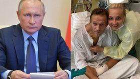 Ruský opozičník Alexej Navalnyj je přesvědčen, že za jeho otravou stojí prezident Vladimir Putin.