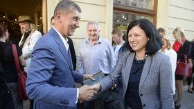 Premiér Andrej Babiš (ANO) nemá v plánu jednat o odvolání eurokomisařky Věry Jourové.