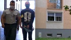 Tibor (47) po divoké hádce shodil Renátu (†45) z balkónu: Za vraždu dostal 17 a půl let!