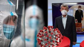 Premiér Andrej Babiš (ANO) v pořadu Ptám se, pane premiére promluvil o koronavirové epidemii.