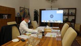 Videokonferenční jednání vlády (5.10.2020)