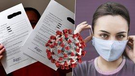 Všeobecná fakultní nemocnice v Praze poukázala na podvržené a falešné zprávy o výsledcích testů na koronavirus. (ilustrační foto)