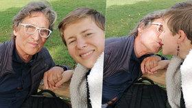 Julia Straussová (31) si vztah s o 41 let starším Berndem Hasenbankem (72) velmi pochvaluje.