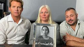 Boj o osvobození dubajské princezny Latify pokračuje.