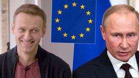 EU uvalila sankce na šest Rusů za otravu Navalného