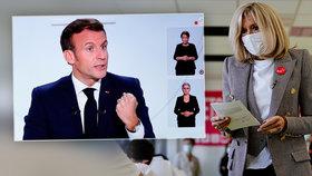 Macron zpřísnil restrikce a poštval si proti sobě hoteliéry. Brigitte si užívá poslední vycházky