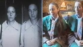 Freda a Greta byla nerozlučná dvojčata, dělala spolu všechno. Nyní spolu odpočívají ve stejném hrobě.