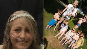 Mámu sedmi dětí doktor léčil na infekci v hrudníku: O pár týdnů později zemřela na rakovinu!