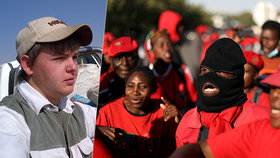 Vražda bělošského farmáře v JAR vyvolala nepokoje.