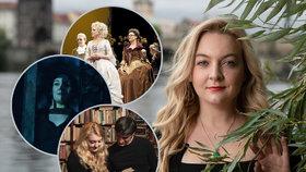 Herectví pražská rodačka Eliza Roth (32) studovala v Los Angeles a Londýně, kde také nejčastěji účinkuje. Tuzemští diváci ji mohou znát z menších rolí v seriálech či filmech.