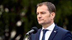 Slovenský předseda vlády Igor Matovič