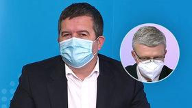 Vicepremiérové v akci: Jan Hamáček (ČSSD) na Primě, Karel Havlíček (za ANO) v ČT