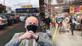 Češi jsou podle ministra Prymuly nepoučitelní, řekl v komentáři k přeplněným hobbymarketům před jejich zavřením.