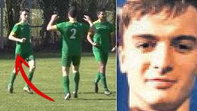 Mladý fotbalista zemřel na koleji během karantény zavedené kvůli pandemii koronaviru.