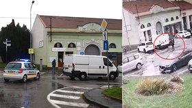 Stará paní zemřela pod koly dodávky, která na náměstí couvala z parkovacího stání.