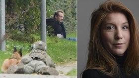 Vrah novinářky z ponorky pláchl z vězení. Brzy ho ale dopadli.