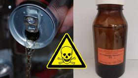 Energetické nápoje zřejmě obsahují potenciálně nebezpečné množství peroxidu vodíku.