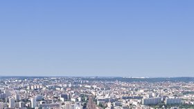Výhled z Tour Montparnasse, který vyrostl na místě původního nádraží