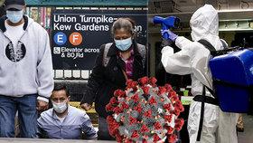 USA i dva týdny před dnem voleb dál evidují rozmach epidemie