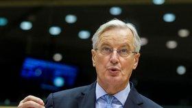 Brexitový vyjednavač Michel Barnier.