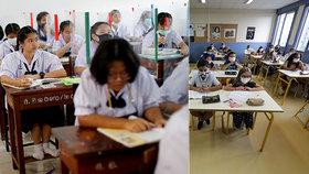 """Studie ukázala, kde je pro děti nejbezpečnější sedět ve třídě. Je to místo """"vzadu v rohu u okna"""""""