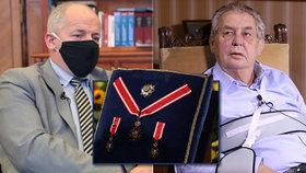 Ministr zdravotnictví Roman Prymula (za ANO) bude s prezidentem Milošem Zemanem jednat o podobě předávání státních vyznamenání.