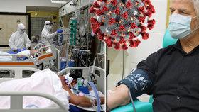 Generál Pavel daroval krev, chce tak jít Čechům příkladem, nemocnicím chybí zásoby od dárců