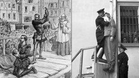 František Nenáhlo při popravě