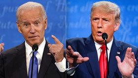 Poslední debata před konáním amerických prezidentských voleb mezi Donaldem Trumpem a Joem Bidenem (23.10.2020)