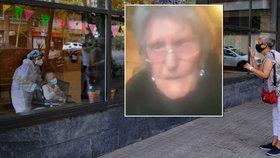 Smutný pohled do domova důchodců: Mary (104) v slzách prosí, aby se mohla setkat s rodinou