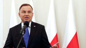 Polský prezident Andrzej Duda si ani letos nejspíš neodpustí lyžování