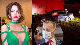 S Kollárem jela v autě i sexbomba Miroslava Fabušová!