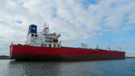 Ropný tanker Nave Andromeda