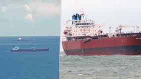 Piráti unesli ropný tanker. Na jihu Anglie zasahuje námořnictvo i vrtulníky.