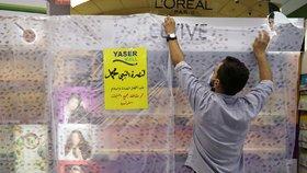 Bojkot francouzského zboží v obchodech v Jordánsku (25. 10. 2020)