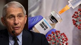 Anthony Fauci věří v rychlé očkování.