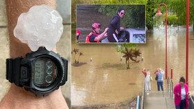 Austrálie čelí záplavám, (26.10.2020).