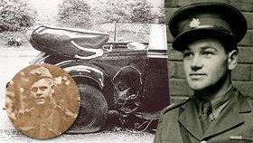 Kvůli atentátu na Heydricha skončil na popravišti i mladší bratr Jana Kubiše Jaroslav (v kroužku).