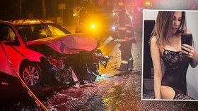 Kdo je Miroslava Fabušová? Kráska byla v době nehody v autě s Borisem Kollárem.