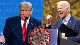 Biden chce pracovat i kvůli covidu, Trump ho nenechá.