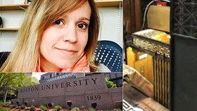 Profesorku Bostonské univerzity Carrie O'Connorovou zabil výtah.