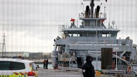 Pátrací akce po migrantech, s nimiž se převrátil člun.