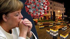Německo bude zpřísňovat, zavře restaurace a omezí možnost shromažďování na dva lidi