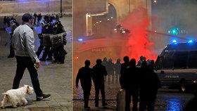 Řím dále protestuje proti vládním opatření, přidává se i Milán