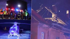 V Tursku u Prahy došlo k výbuchu v bytovém domě.