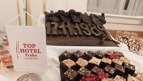 V roce 2019 zajišťoval TOP Hotel Praha občerstvení na recepci po udílení státních vyznamenání na Pražském hradě