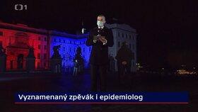 O tom, koho prezident Miloš Zeman vyznamená mluvil moderítor Jakub Železný i v Událostech. (28. 10. 2020)