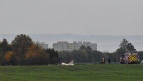 Pád letadla u Olšan na Prostějovsku nepřežil pilot.