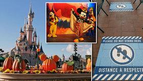 Jak to vypadá v Disneylandu v době covidové?